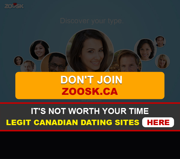 front page for Zoosk